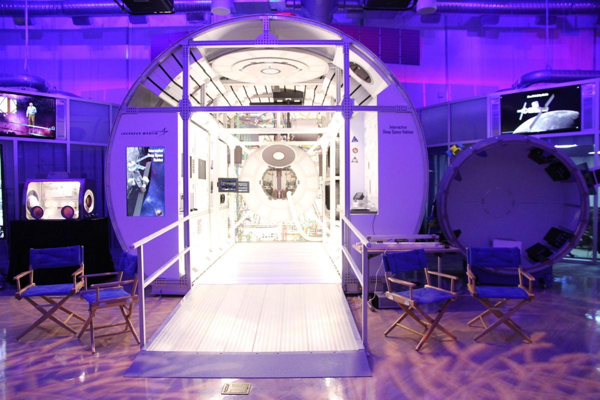 Space Symposium-Lunar Habitat