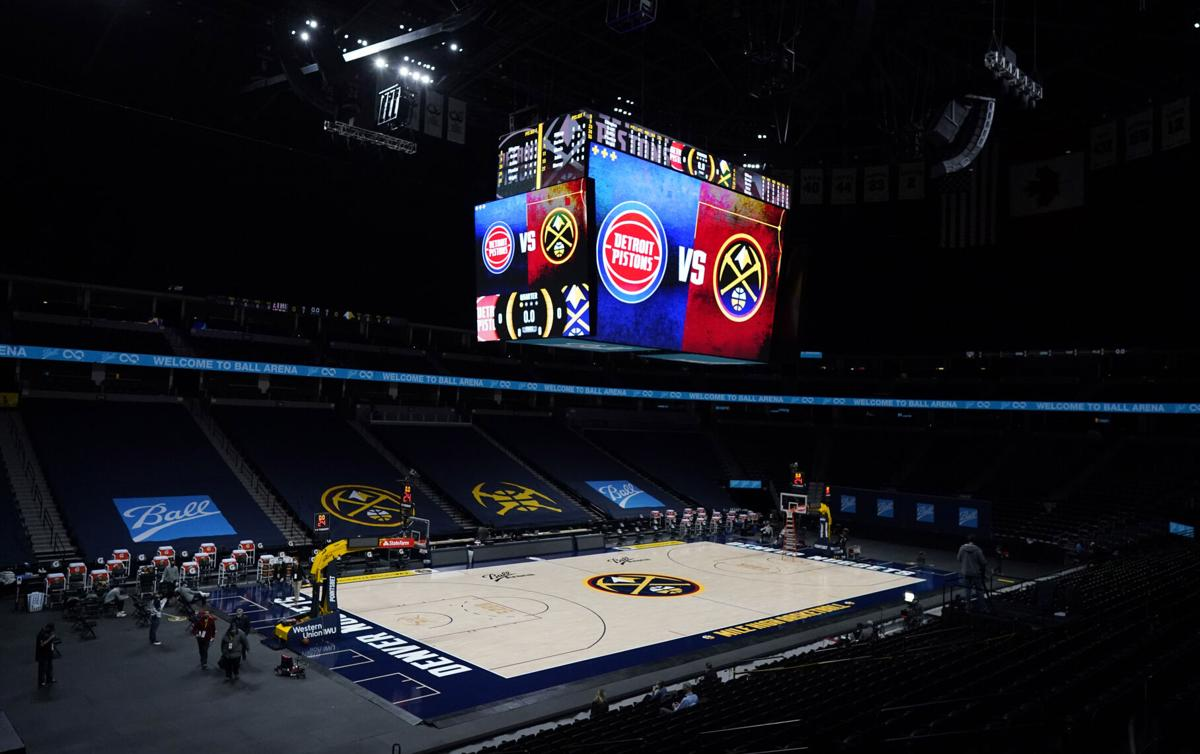 Pistons Nuggets Basketball postponed