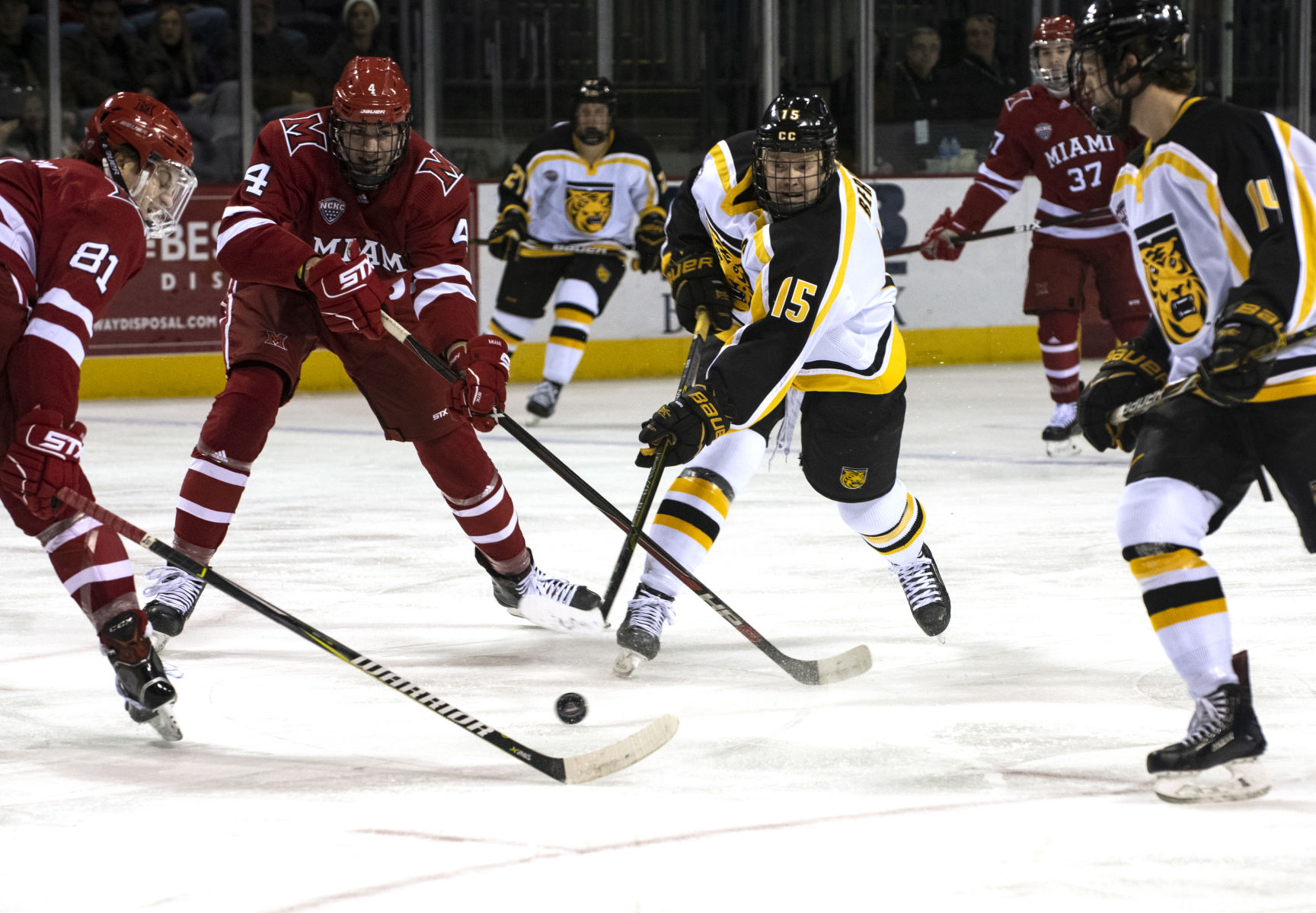 NCHC: Bergh Shakes Monkey Off His Back With First Goal Of Season As Colorado College Hockey Beats Miami 2-1