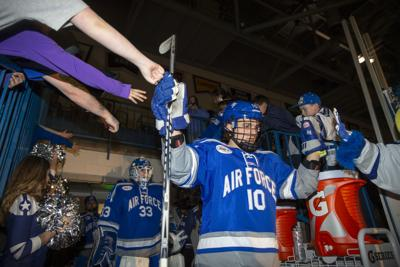 Air Force faces Army on the ice for overtime tie