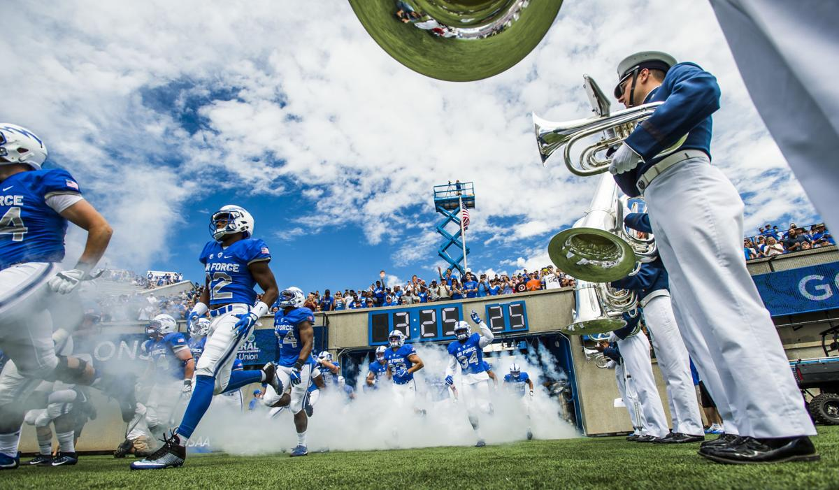 Air Force Releases Football Schedule Will Face Colorado State For Theus Pie Game Thanksgiving Fewer Late Night Home Games