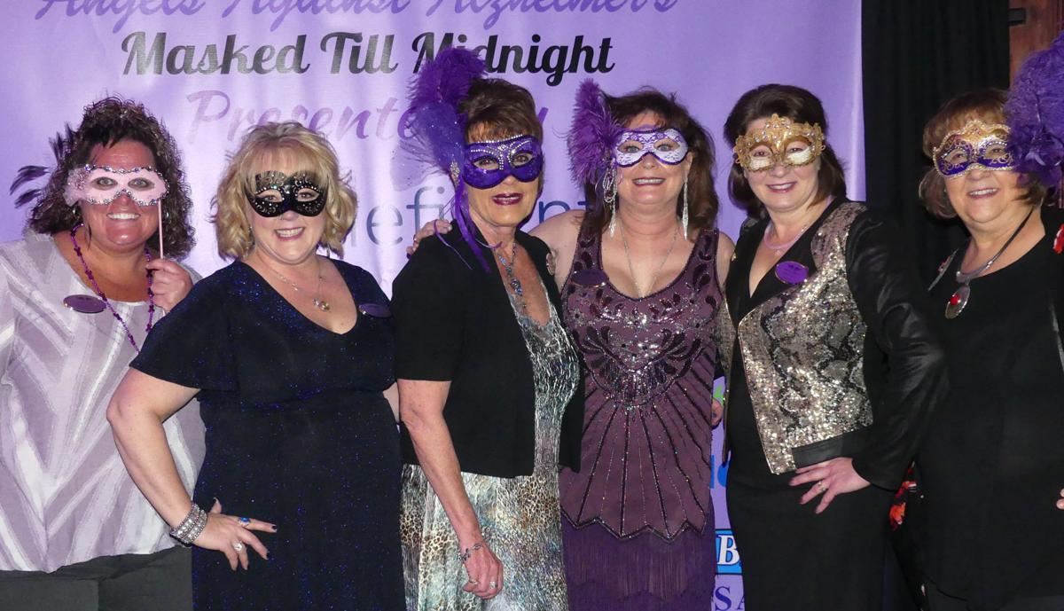Angels masquerade pays tribute to the memory of loved ones lost to dementia