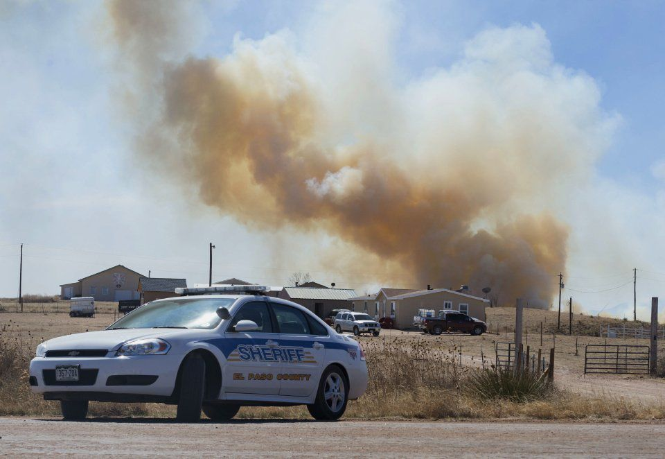 Fort Carson Wildfire