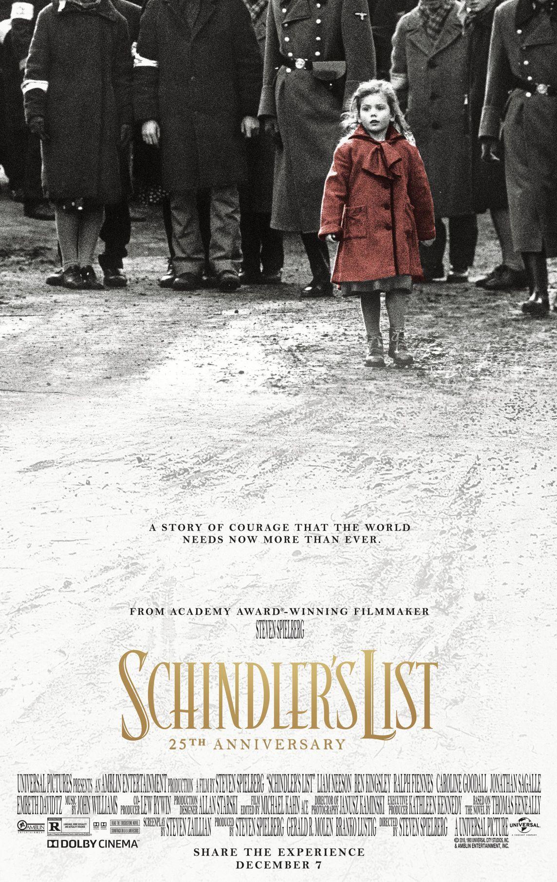 schindlers list movie minis