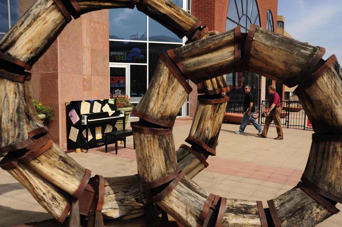 Pretty Piano Project dedication kicks of Arts Month in Colorado Springs