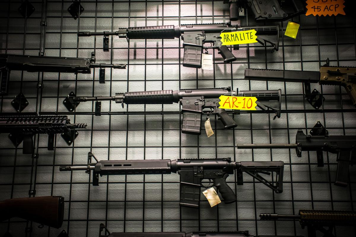Assault Rifles for sale
