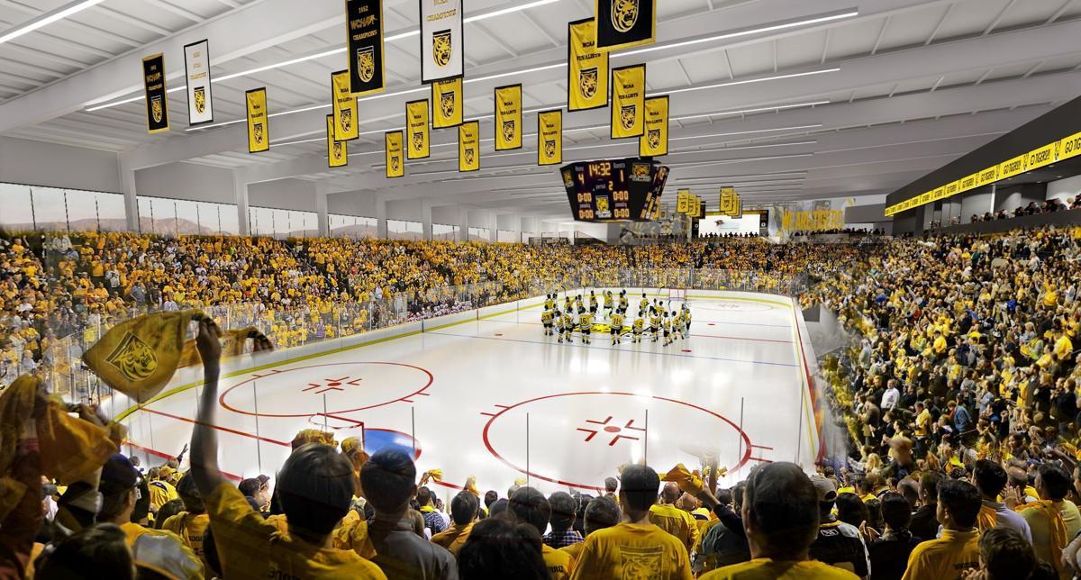 Colorado College Arena rendering - hockey