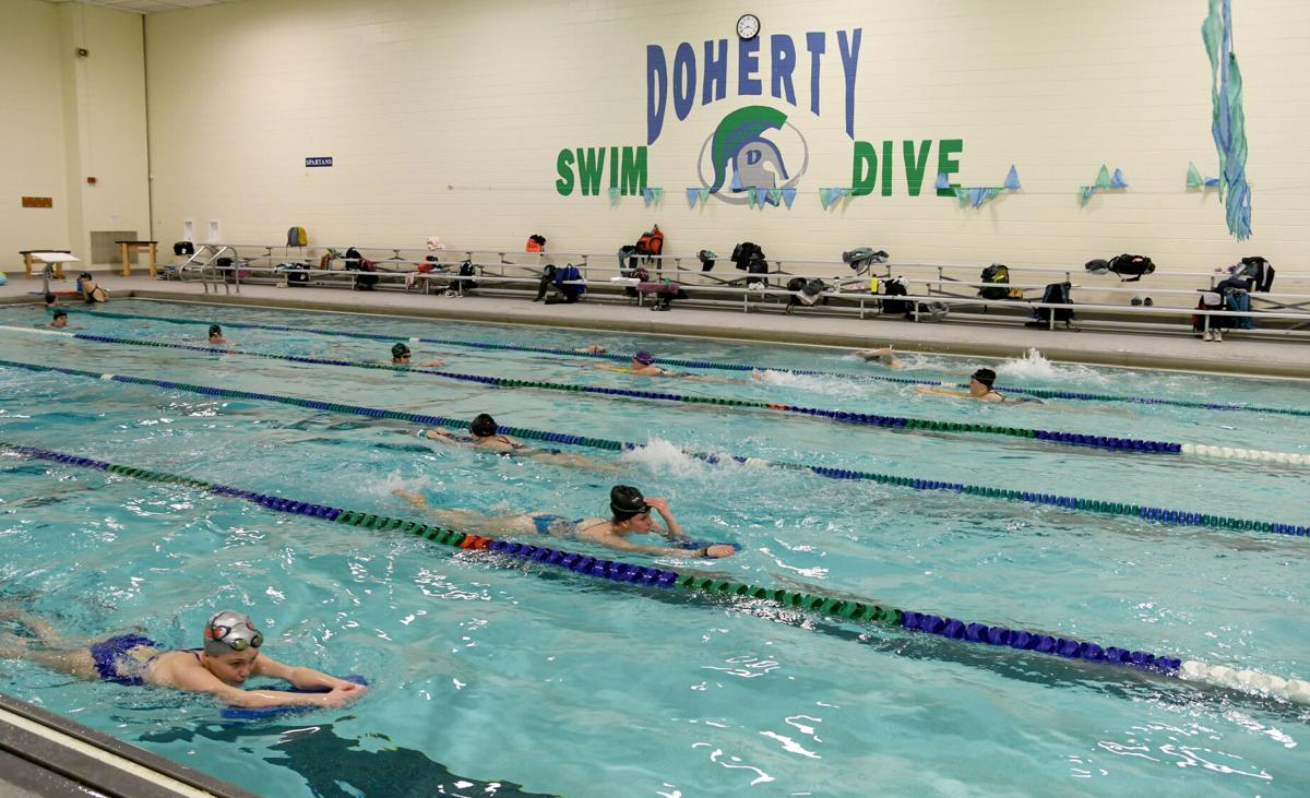 Doherty girls' swim & dive focused on culture in pandemic ...