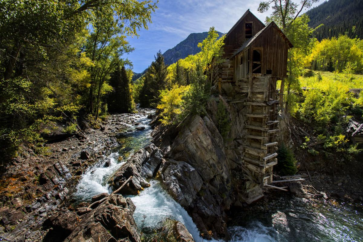 On the wild road to Crystal Mill, Colorado's photographic gem