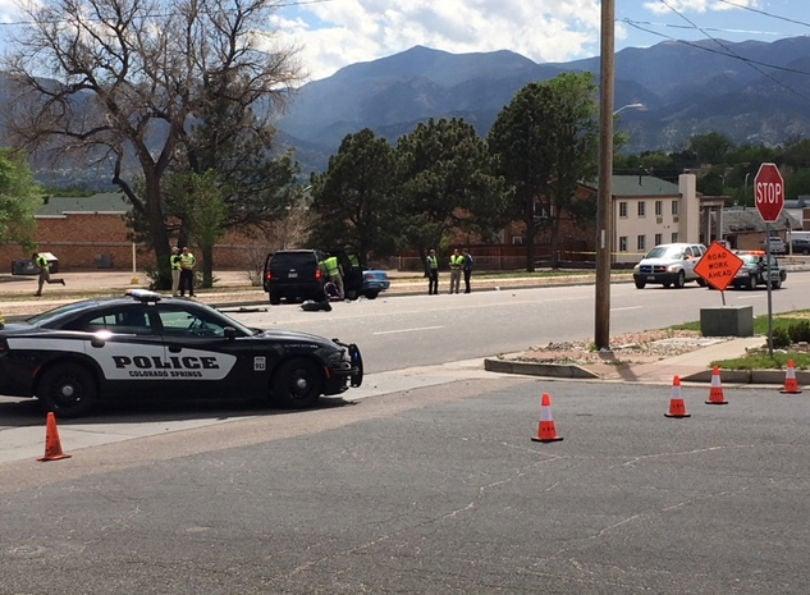 Woman killed in Colorado Springs crash
