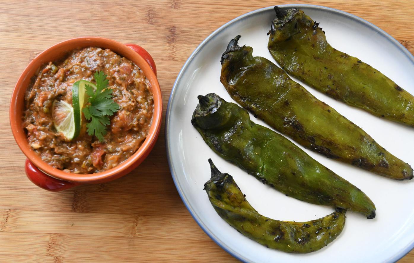 Roasting Pueblo Chilies