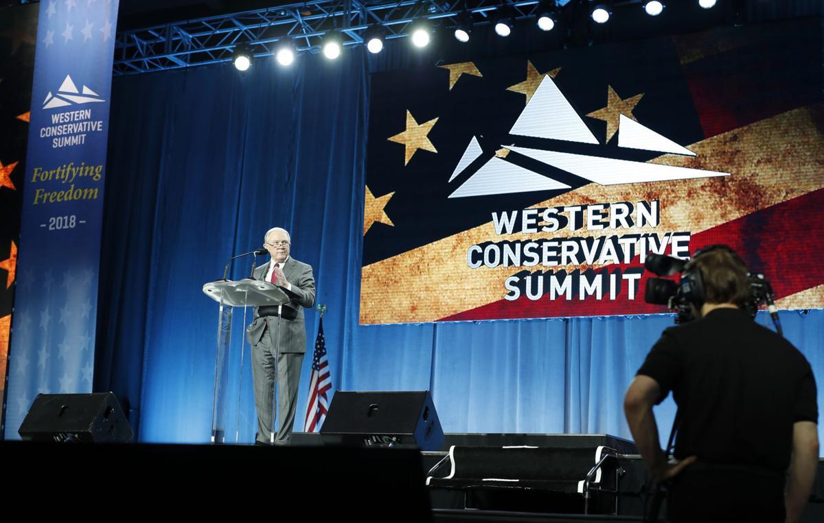 AG Sessions, Gardner take center stage at Denver conservative summit