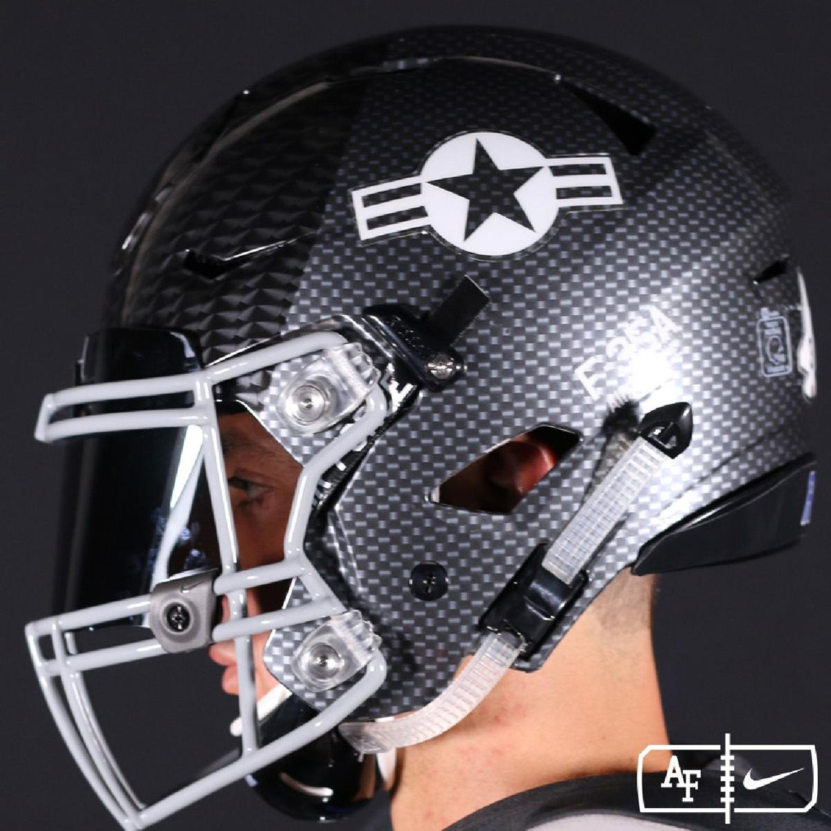 Air Force releases images of latest Air Power Legacy Series helmet