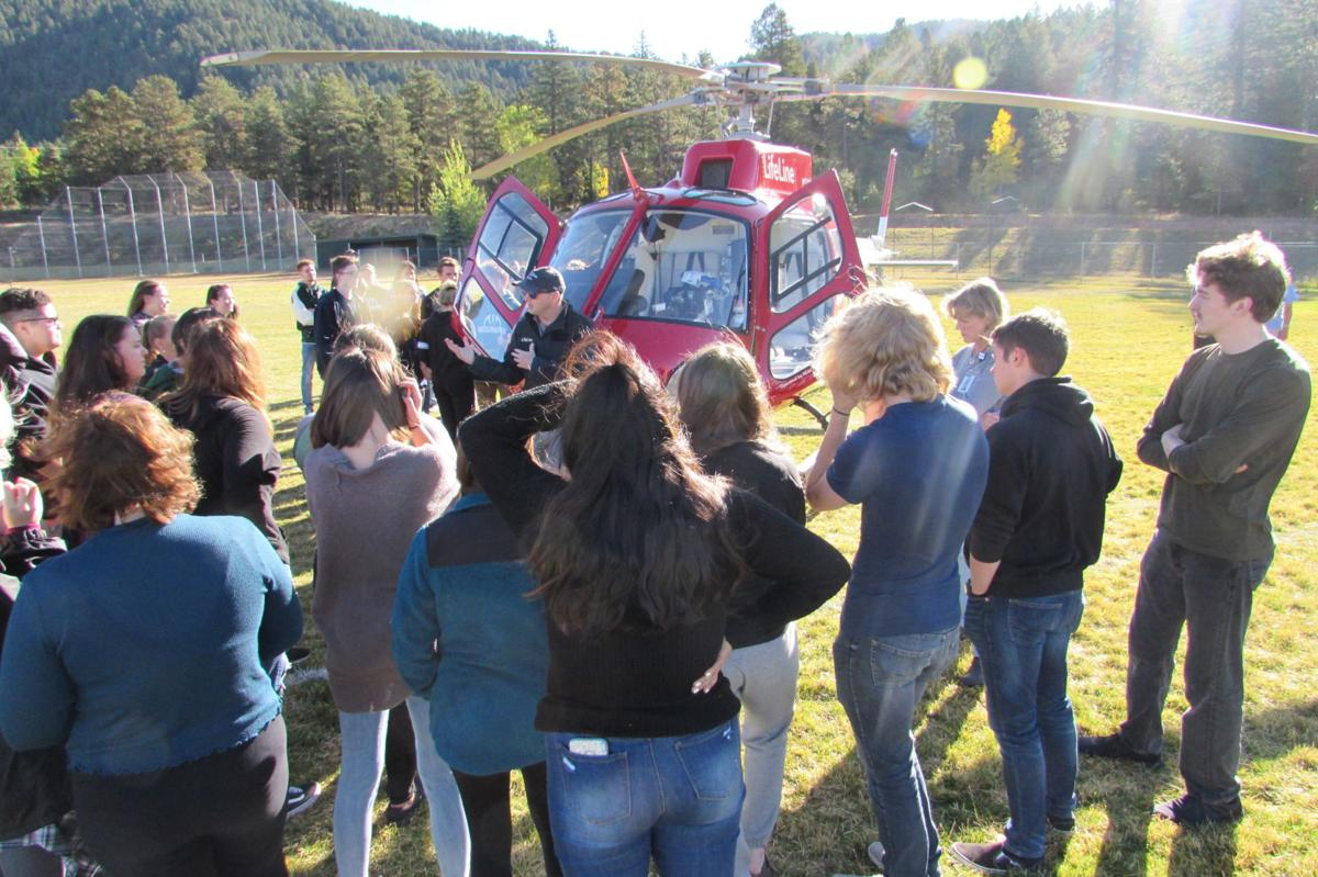 WPHS students learn about LifeLine