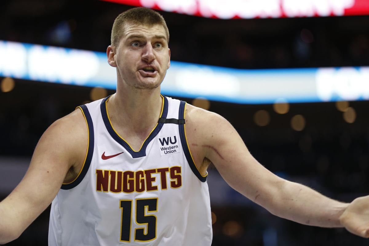 Nuggets Hornets Basketball