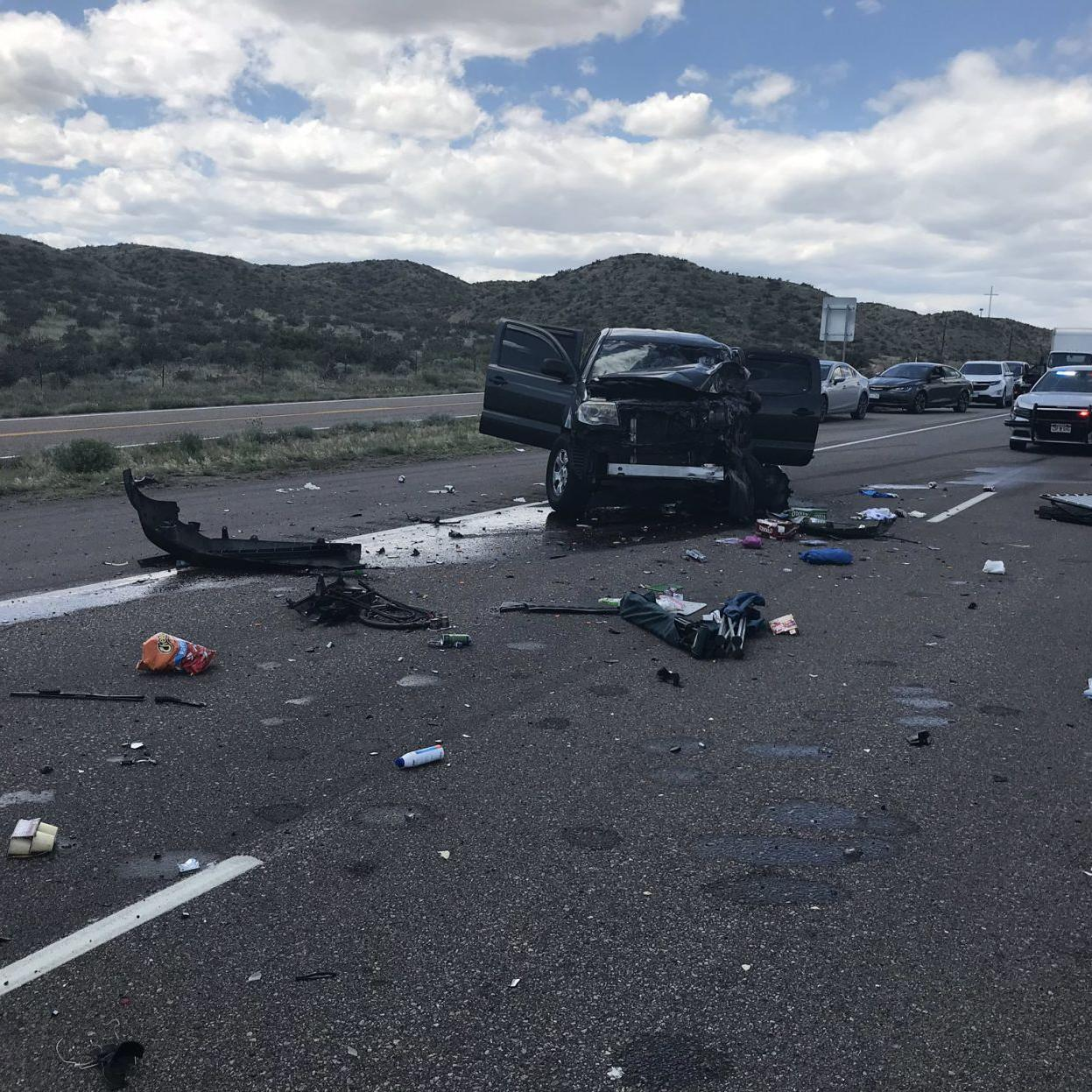 Wednesday's traffic: Crash closes southbound I-25 north of