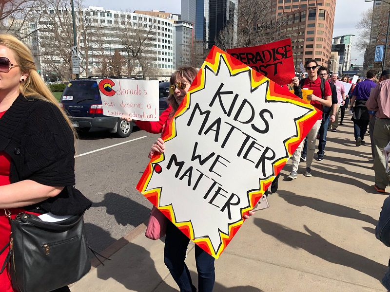 Opinion Treat Our Teachers And Public >> Letters Support For Colorado Teachers Thoughts On Starbuck S