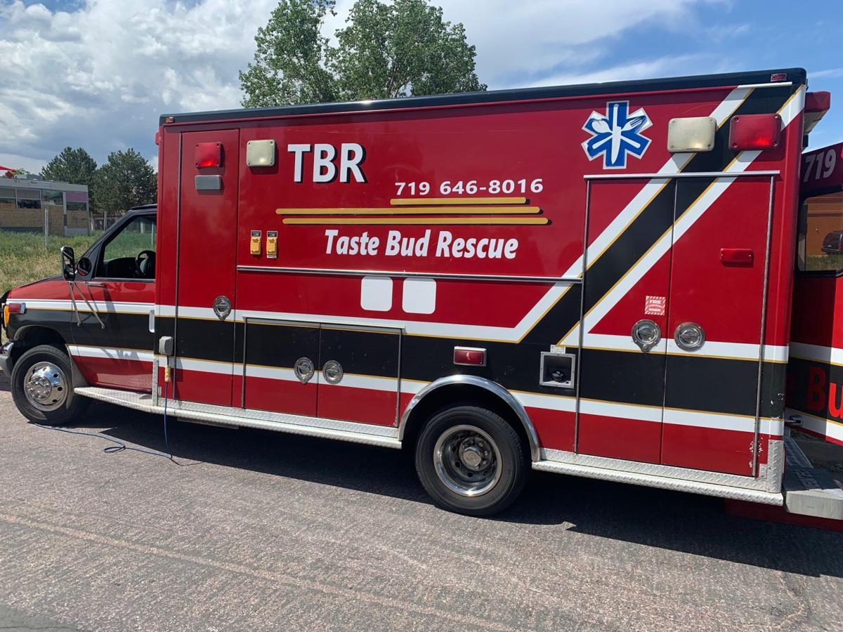 Taste Bud Rescue food truck