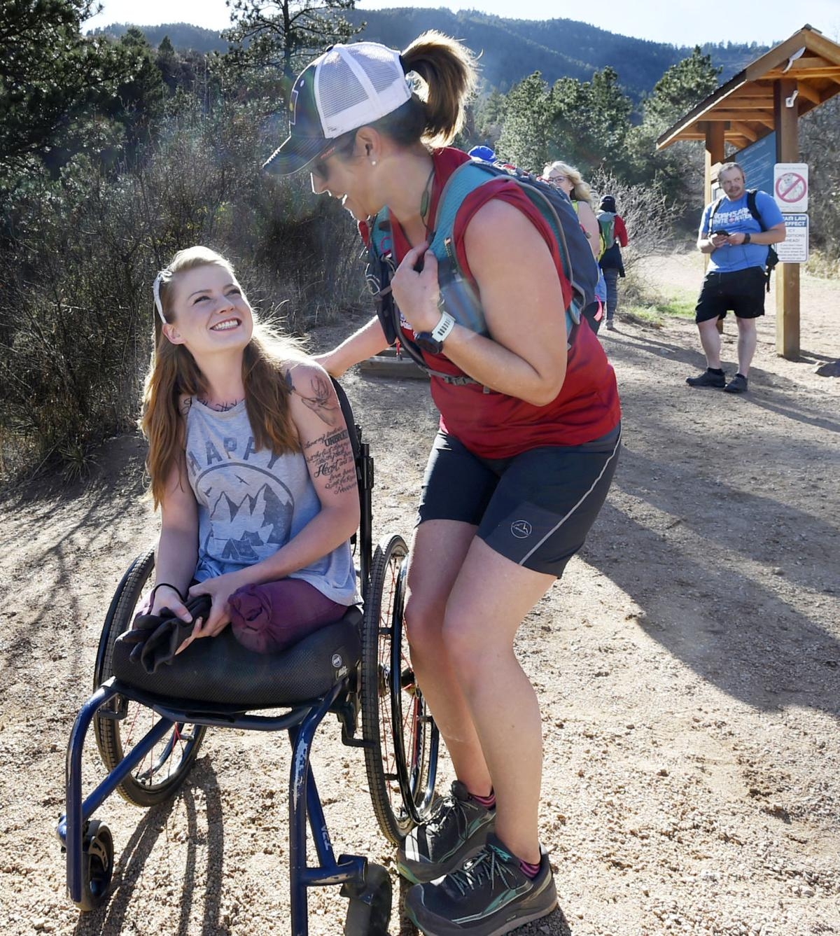 Amid Manitou Incline glory, double amputee continues to fight demons