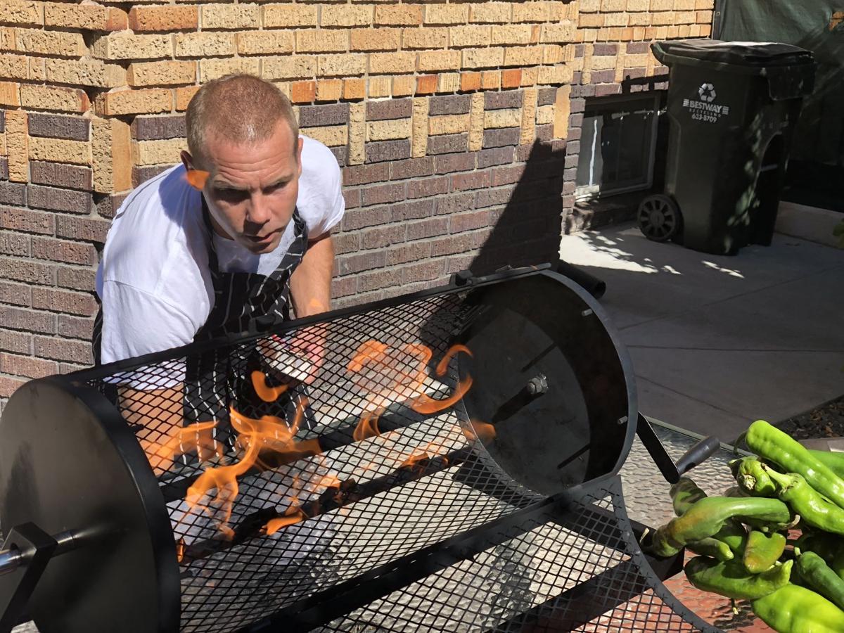 Colorado Springs cooking school chef heats up chile roaster