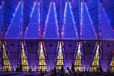 Cadet Chapel interior