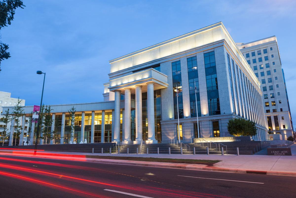 Colorado Supreme Court building in downtown Denver