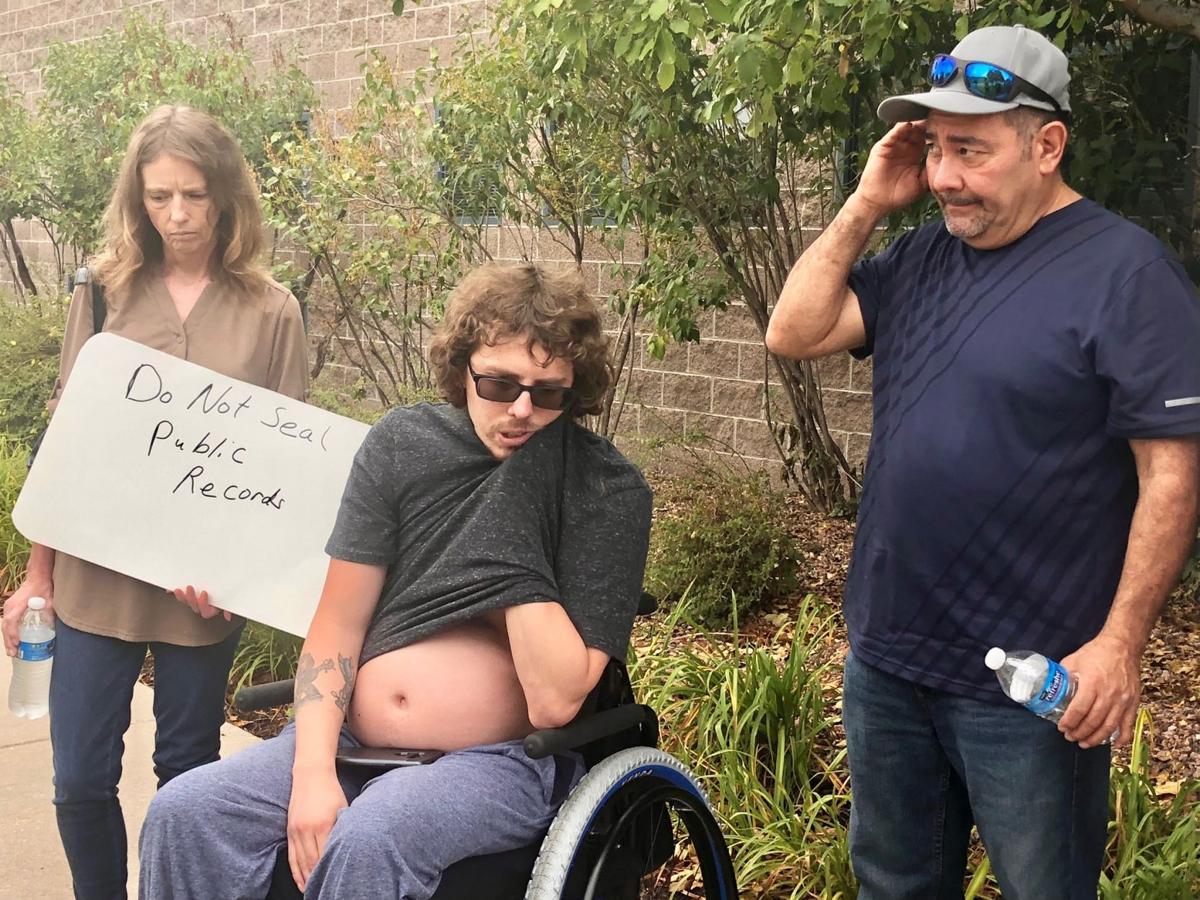 Thomas Villanueva protest