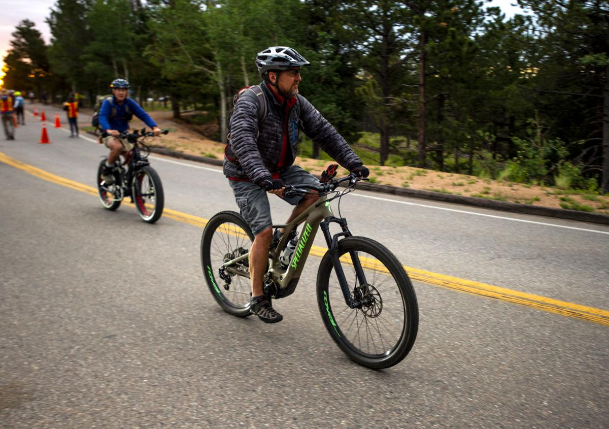 E Bikes on Pikes Peak 1.JPG