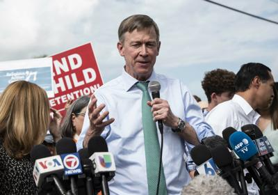 Election 2020-Teen Detention Camp Hickenlooper