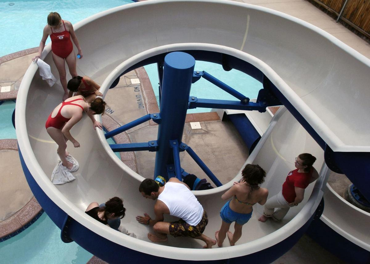 Pools open