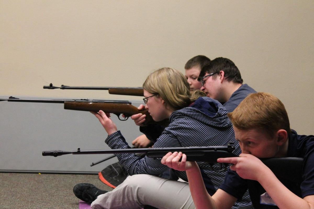 Children learn gun safety in Black Forest