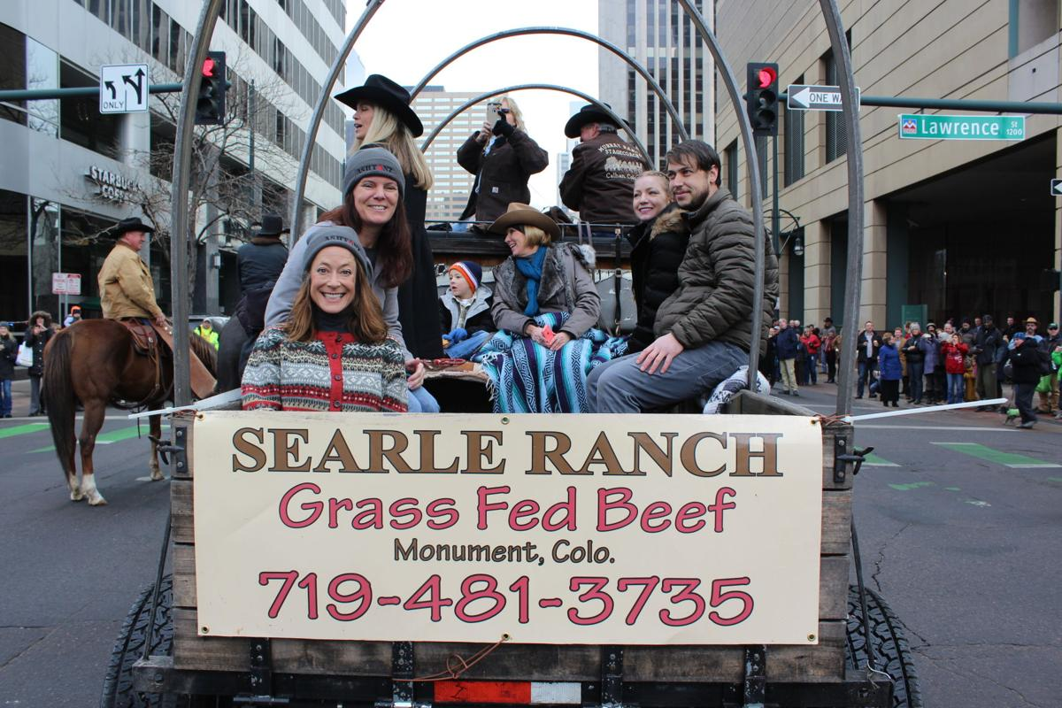 Searle Ranch cattle drive