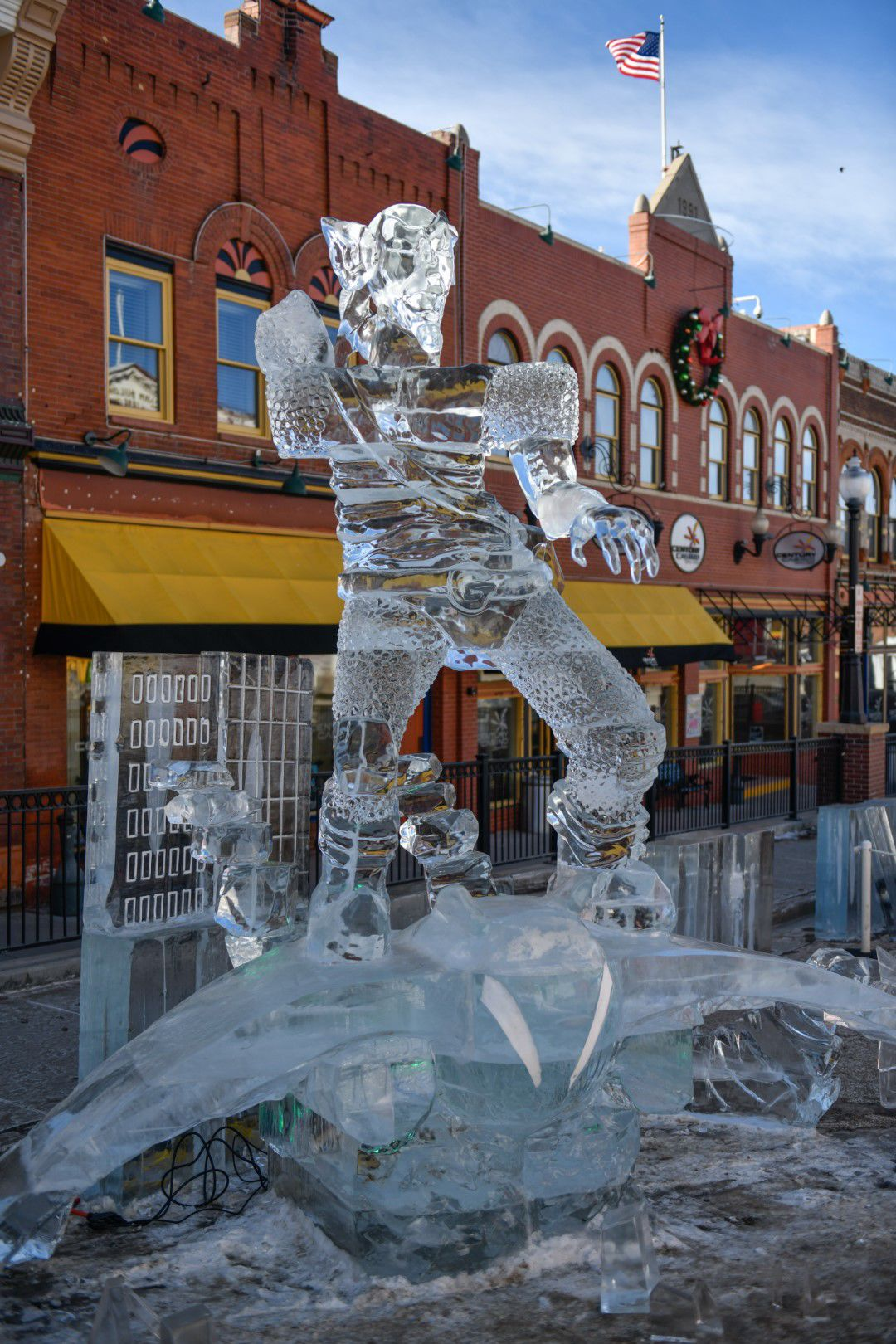 Cripple Creek Ice Festival touts superheroes in ice for 12th annual event