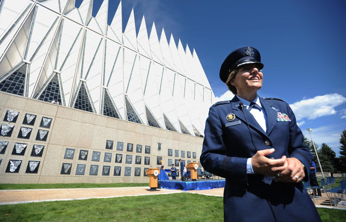 Air Force Superintendent was a star for Falcons on court, in class