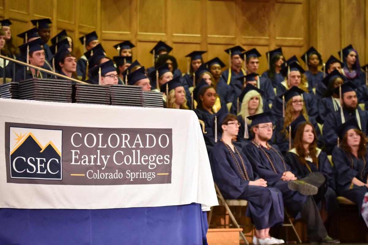 Colorado Springs Early Colleges Graduation 2016