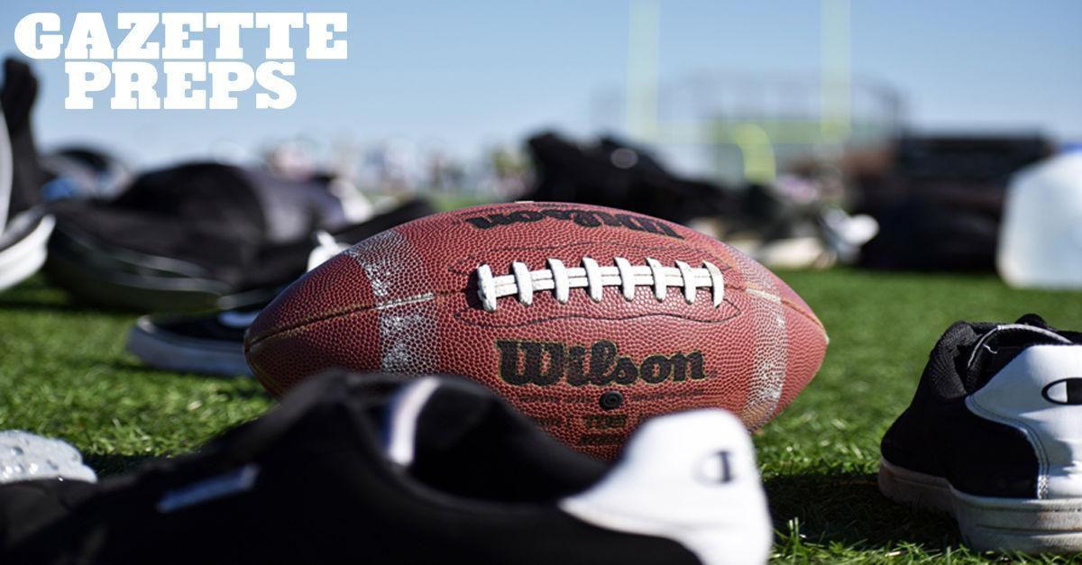 Prep football stock image
