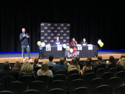 athletes signing national letters of intent April 22 at Discovery Canyon Campus High School