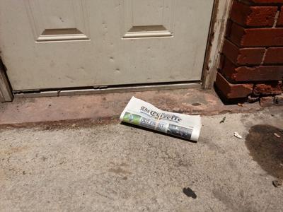 Gazette doorstep