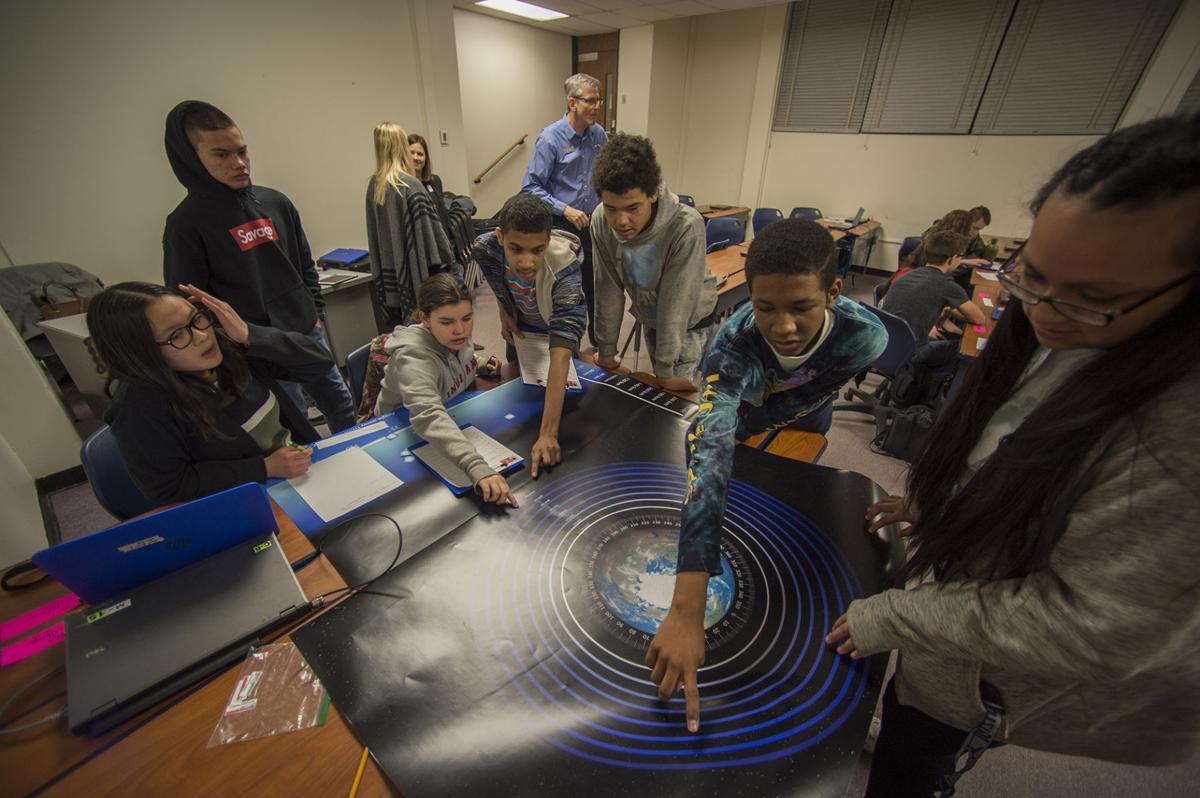 Earth to Mars program visits Colorado Springs high schools for National Engineers Week
