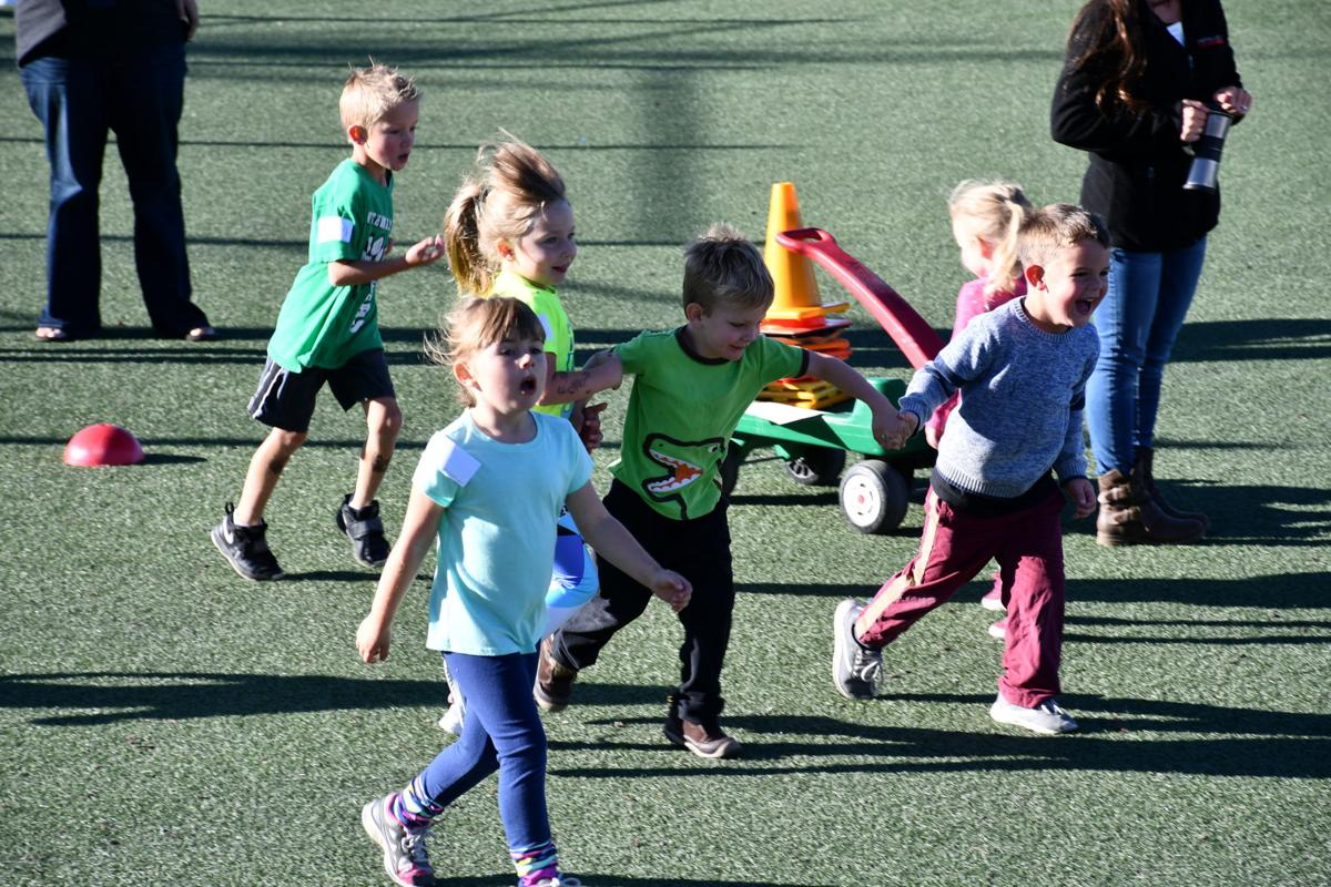 Fun run combines running, walking and skipping for a cause