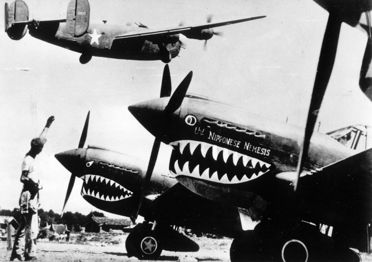 WWII FLYING TIGERS CHINA