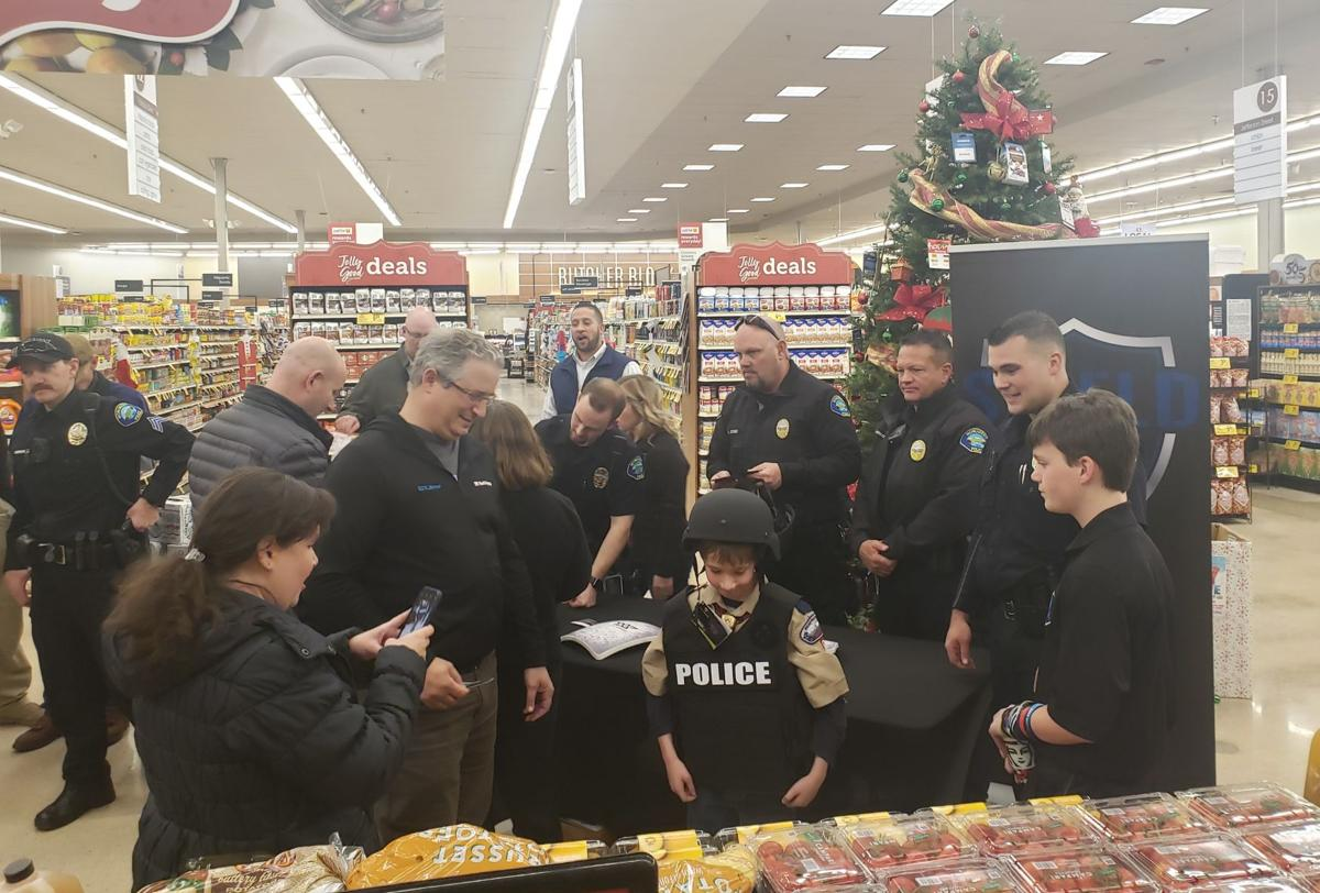 MPD officers receive gifted tactical gear