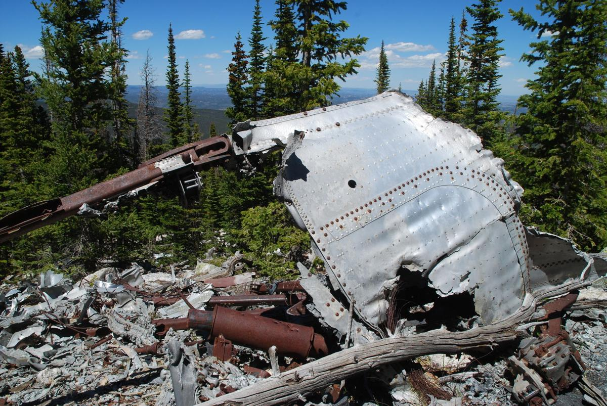 B-17 wreckage a haunting hike