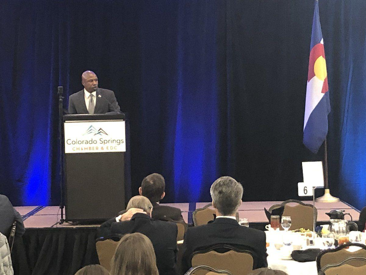 Darryl Glenn speaks at 2018 State of the region address