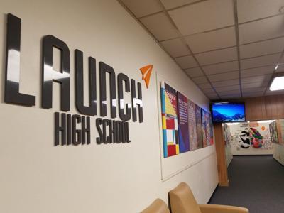 Launch High School graduates first class of seniors
