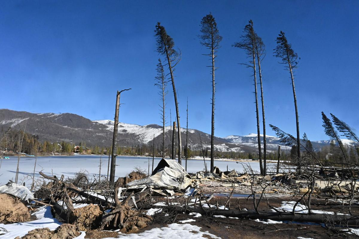 Devastation by the East Troublesome fire