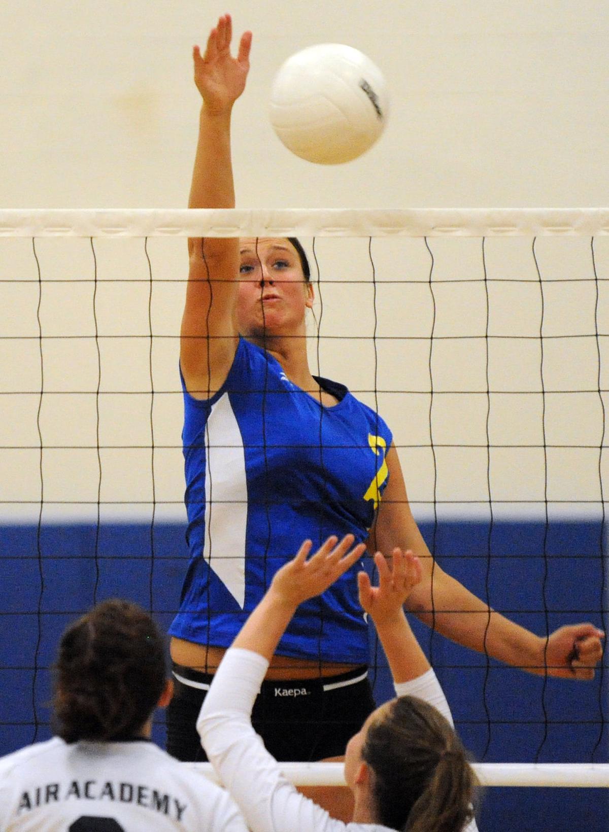 prep volleyball Kinzer 2008