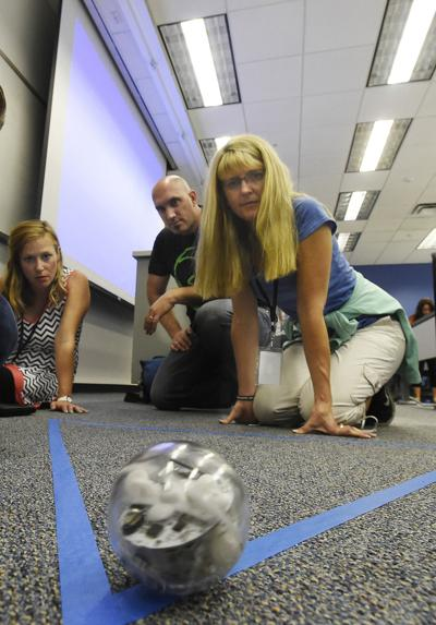 Colorado teachers get hands-on STEM training at intensive summer camp