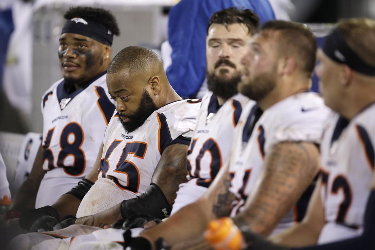 Broncos' strategies backfire in dud of season opener