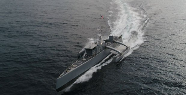 Newest Navy prototype is an unmanned submarine hunter